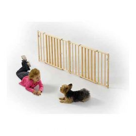 Extra Wide Wood Pet Gate