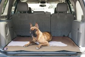 Tan Universal Waterproof SUV Cargo Liner By Majestic Pet Products