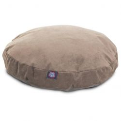 Pearl Villa Collection Small Round Pet Bed