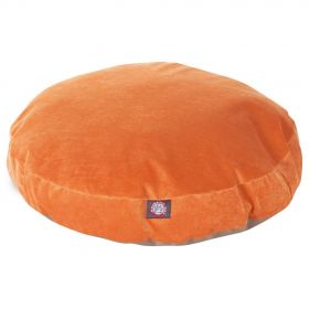 Orange Villa Collection Medium Round Pet Bed