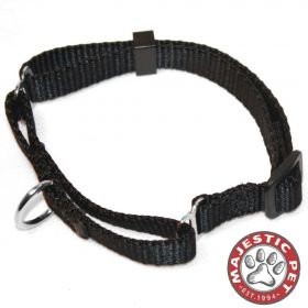 18in - 26in Martingale Black, 100-200 lbs Dog By Majestic Pet Products