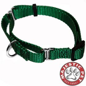18in - 26in Martingale Green, 100-200 lbs Dog By Majestic Pet Products
