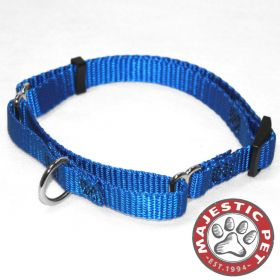 18in - 26in Martingale Blue, 100-200 lbs Dog By Majestic Pet Products