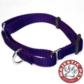 14in - 20in Martingale Purple, 40 - 120 lbs Dog By Majestic Pet Products