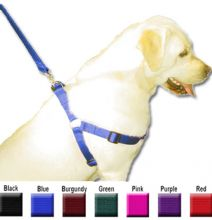 25in - 40in Step In Harness Burgundy, Xlrg 100-200 lbs Dog By Majestic Pet Products