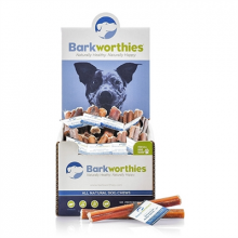 "Barkworthies American - 12"" Odor Free Bully Stick"