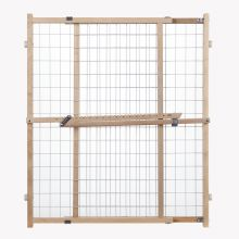 Wide Wire Mesh Pet Gate