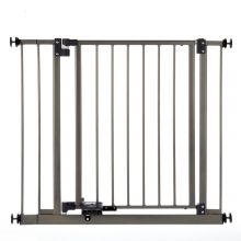 Slide-Step and Open Wall Mounted Steel Pet Gate