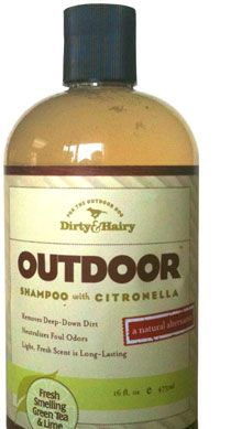Dirty and Hairy Outdoor Shampoo