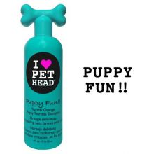 Puppy Fun Tearless Shampoo Yummy Orange 16oz