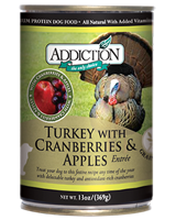 Addiction Food Turkey with Cranberries & Apples Entree