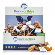 Barkworthies Curly Bully Stick - Short