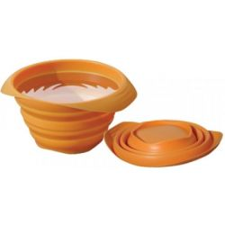 Kurgo Collapse a Bowl Orange 24 Ounces