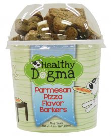 Healthy Dogma All Natural Dog Biscuits - Parmesan Pizza