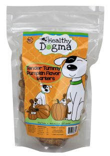 Healthy Dogma All Natural Dog Biscuits -Tender Tummy Pumpkin