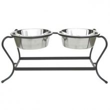 Majesty Double Elevated Dog Bowl - Small