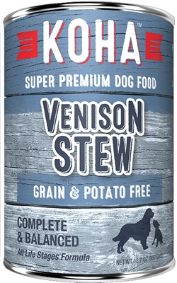 KOHA Venison Stew for Dogs