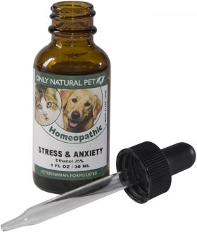 Only Natural Pet Anxiety & Stress Homeopathic