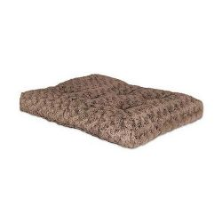 "Quiet Time Deluxe Ombre' Dog Bed (Color: Mocha, Size: 21"" x 12"")"