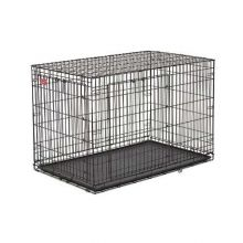 "Life Stage A.C.E. Double Door Dog Crate (Color: Black, Size: 18.50"" x 12.50"" x 14.50"")"