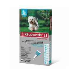 Flea and Tick Control for Dogs (Dog Size: 10-22 lbs, Month Supply: 4 Months)