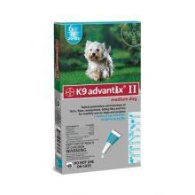 Flea and Tick Control for Dogs (Dog Size: 10-22 lbs, Month Supply: 6 Months)