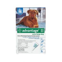 Flea Control for Dogs and Puppies (Dog Size: Over 55 lbs, Month Supply: 4 Months)