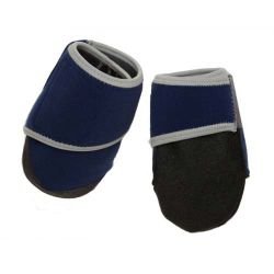 Healers Booties For Dogs Box Set (Color: Blue, Size: Small)