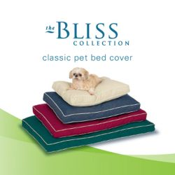 "Pet Dreams Classic Cover - Replacement Bed Covers (Color: Khaki, Size: Small 24"" x 18"")"