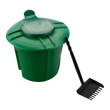 "Doggie Dooley In-ground Waste Disposal Unit (Color: Green, Size: 13.5"" x 13.5"" x 15.5"")"
