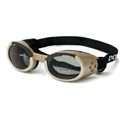 ILS Dog Sunglasses (Color: Chrome / Smoke, Size: Medium)
