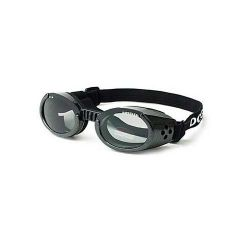 ILS Dog Sunglasses (Color: Black / Smoke, Size: Extra Small)