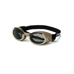 ILS Dog Sunglasses (Color: Chrome / Smoke, Size: Extra Small)