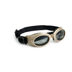 Originalz Dog Sunglasses (Color: Chrome / Smoke, Size: Small)