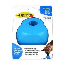 "Dog Buster Food Cube (Color: Blue or Orange, Size: 6.5"" x 6.5"" x 5.5)"