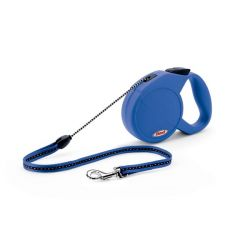 Explore Retractable Cord Leash - 23 Feet (Color: Blue, Size: Medium (Up to 44 lbs.))