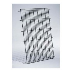 "Dog Cage Floor Grid (Color: Black, Size: 23"" x 19"" x 1"")"