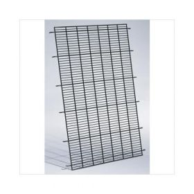 "Dog Cage Floor Grid (Color: Black, Size: 47"" x 31"" x 1"")"