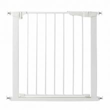 "Auto Close Gateway Pressure Mounted Pet Gate (Color: White, Size: 29"" - 37"" x 29.5"")"
