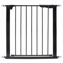 "Auto Close Gateway Pressure Mounted Pet Gate (Color: Black, Size: 29"" - 37"" x 29.5"")"
