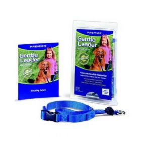 Gentle Leader Quick Release Head Collar (Color: Royal, Size: Large)