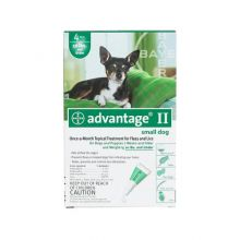 Flea Control for Dogs and Puppies (Dog Size: Under 10 lbs, Month Supply: 4 Months)