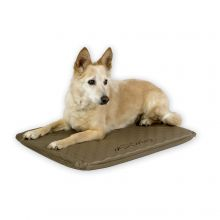 Lectro-Soft Heated Outdoor Bed (Color: Tan, Size: Medium)