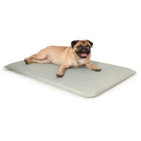 Cool Bed III Thermoregulating Pet Bed (Color: Gray, Size: Small)
