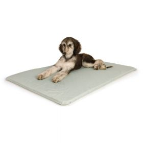 Cool Bed III Thermoregulating Pet Bed (Color: Gray, Size: Medium)