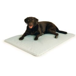 Cool Bed III Thermoregulating Pet Bed (Color: Gray, Size: Large)