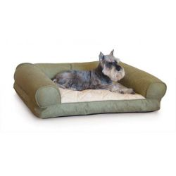 Lazy Sofa Sleeper Pet Bed (Color: Green, Size: Small)