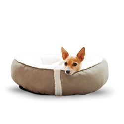 Sleepy Nest Pet Bed (Color: Caramel, Size: Small)