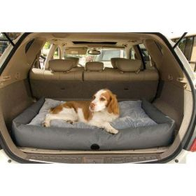 Travel / SUV Pet Bed (Color: Gray, Size: Large)