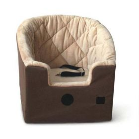 Bucket Booster Pet Seat (Color: Tan, Size: Small)